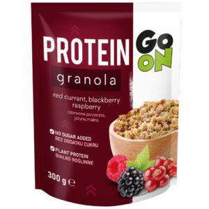 Granola proteica de GO ON - Frutas del bosque (300 gr)