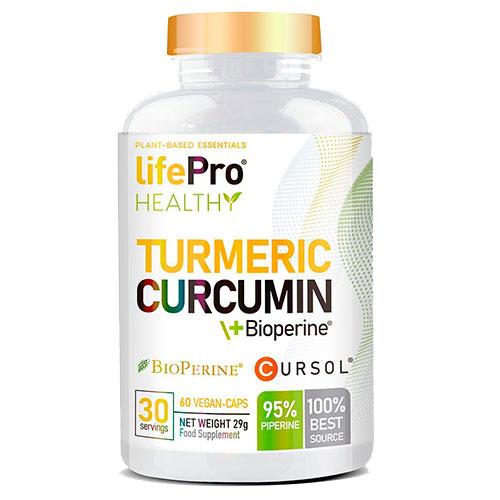 Turmeric Curcumin de Lifepro (60 caps)