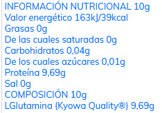 L-Glutamina en polvo de Quamtrax Nutrition (400 gr) - Nutriweb