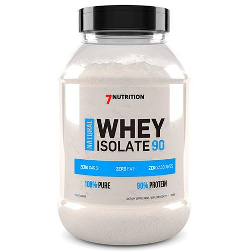 Aislado de proteína natural de 7 Nutrition - Neutro (2000 gr)