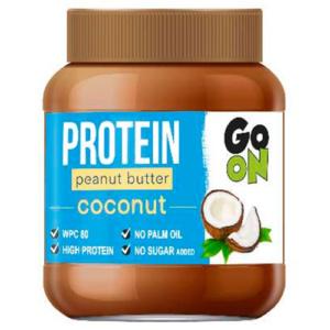 Mantequilla de cacahuete proteica con coco de GO ON