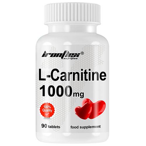 IronFlex L-Carnitine 1000 (90 tabs) - Nutriweb