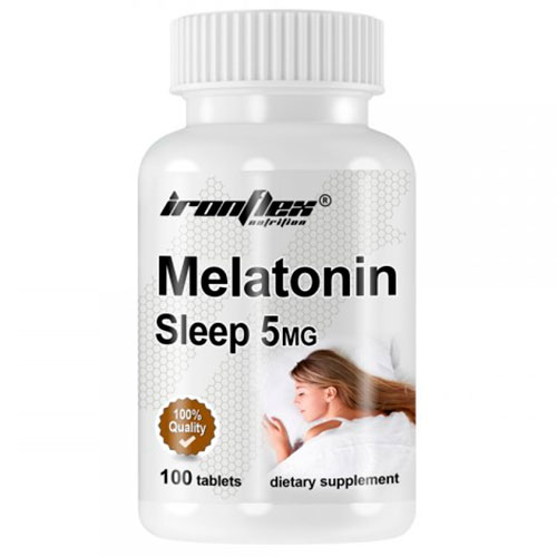 IronFlex Melatonina 5 mg (100 tabs) - Nutriweb