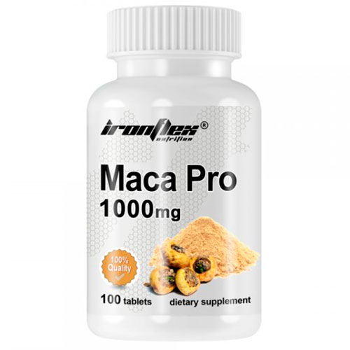 IronFlex MACA 1000 (100 tab) - Nutriweb