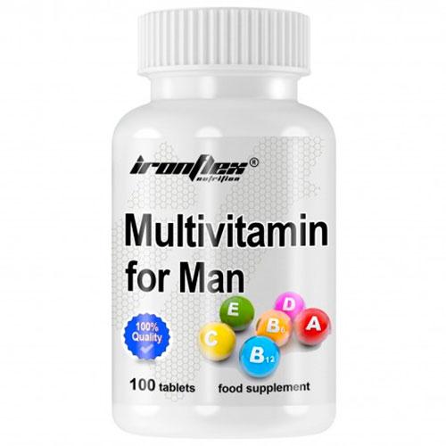 IronFlex Multivitamin for Men (100 tabs) - Nutriweb